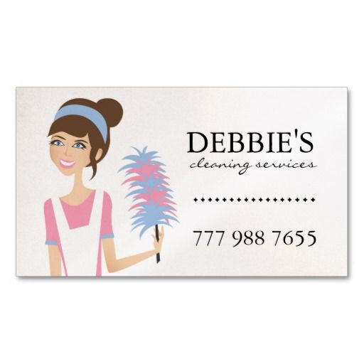 Whimsical house cleaning services business cards holiday business whimsical house cleaning services business cards colourmoves