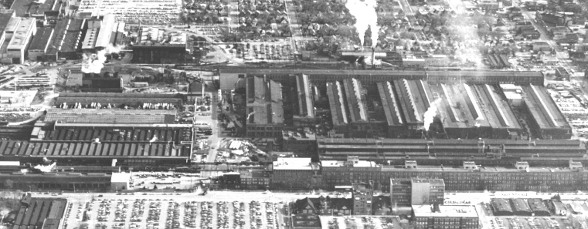 Downtown West Allis 1976 When Allis Chalmers Was Going Strong Definitly A Massive Operation West Allis West Allis Wisconsin Historical View