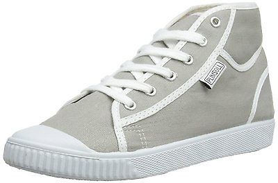 Plimsoll Women's Low-Top Trainers White 6 UK