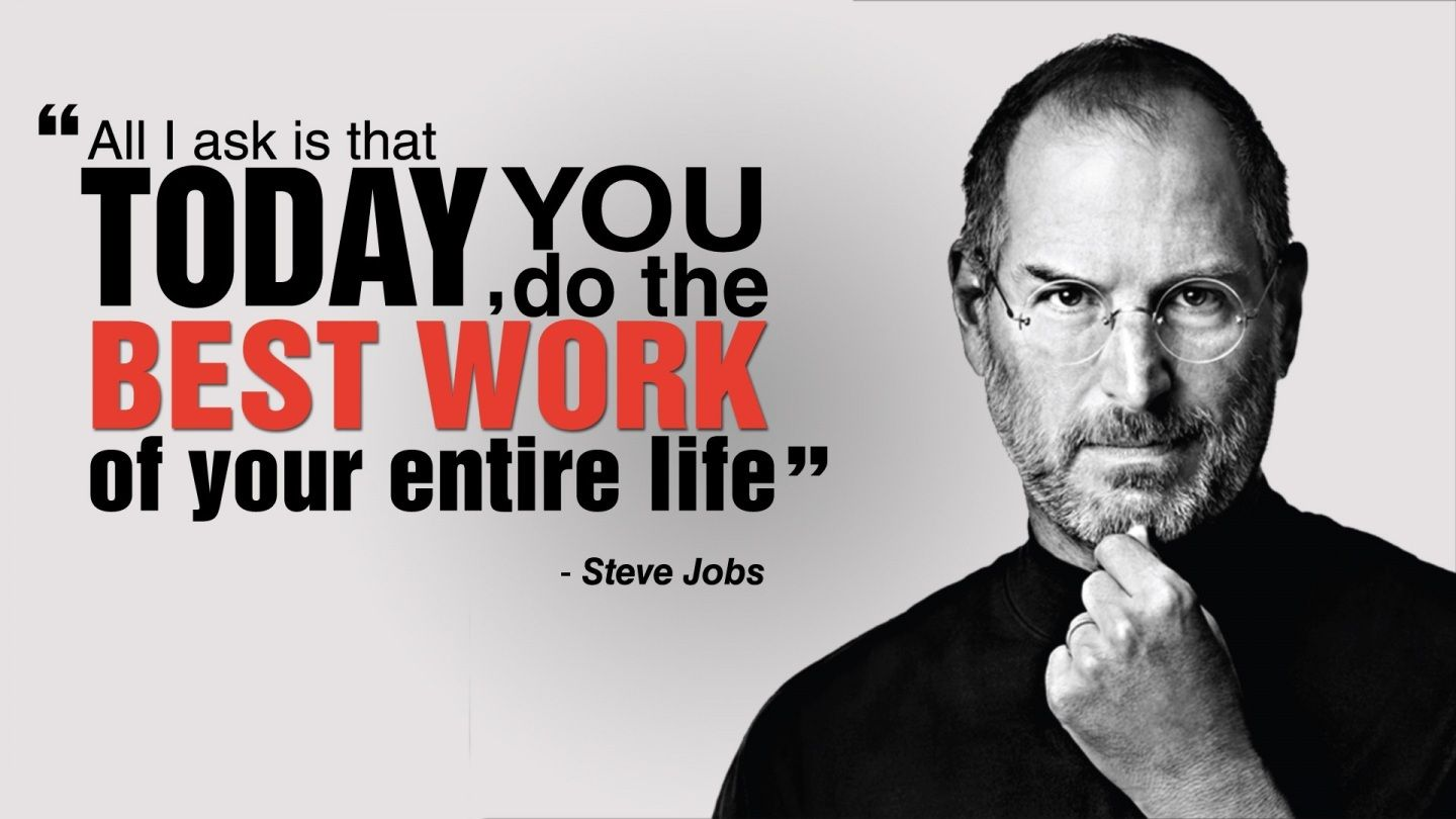 5 Best Motivational Quotes by Steve Jobs  Steve jobs quotes, Job