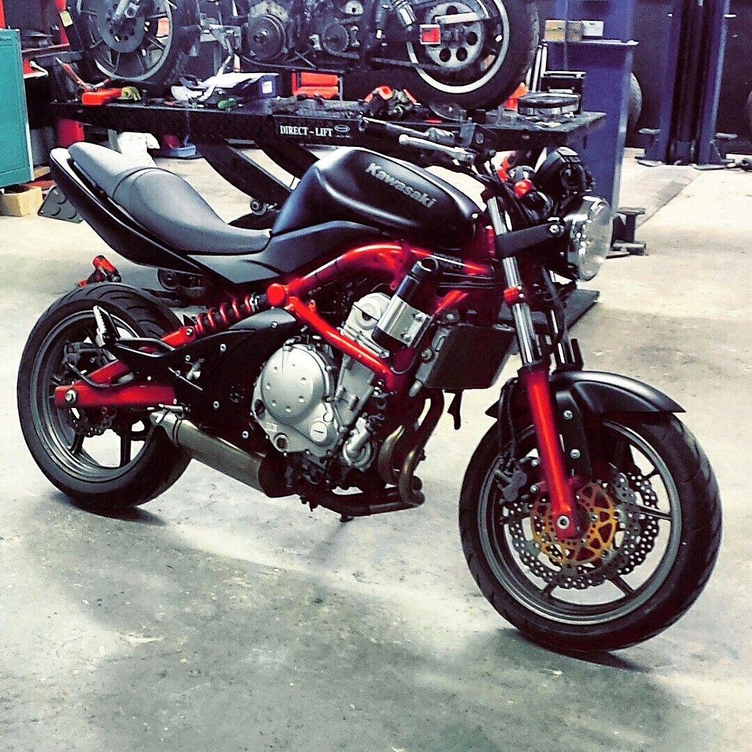 Ninja 650r Custom Cafe Fighter S Izobrazheniyami Motocikl