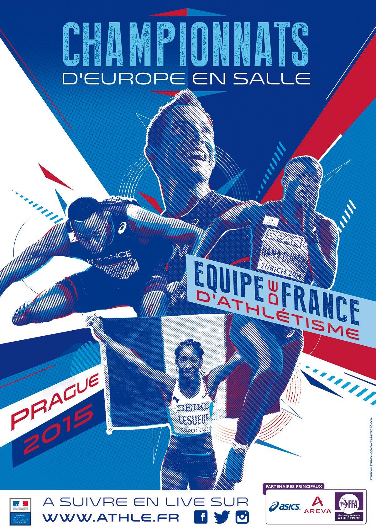 Athletics Poster Events Ffa On Behance Graficos Deportivos
