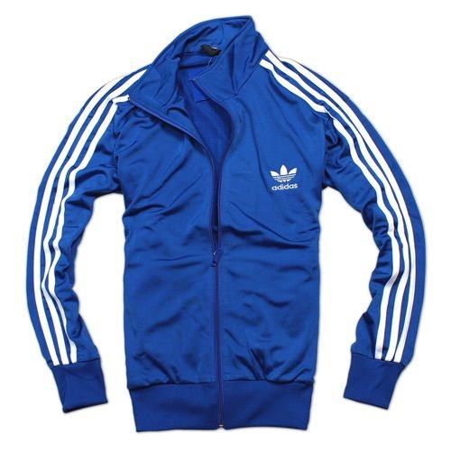Adidas Retro Plan Track Jacket Blue with White Top | My Style ...