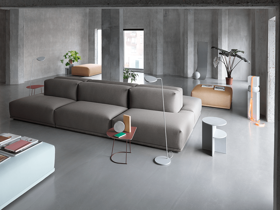 Scandinavian Modular Sofa Inspiration From Muuto With 11 Modules