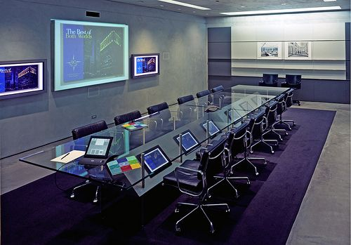 High Tech Conference Room Business Travel News For