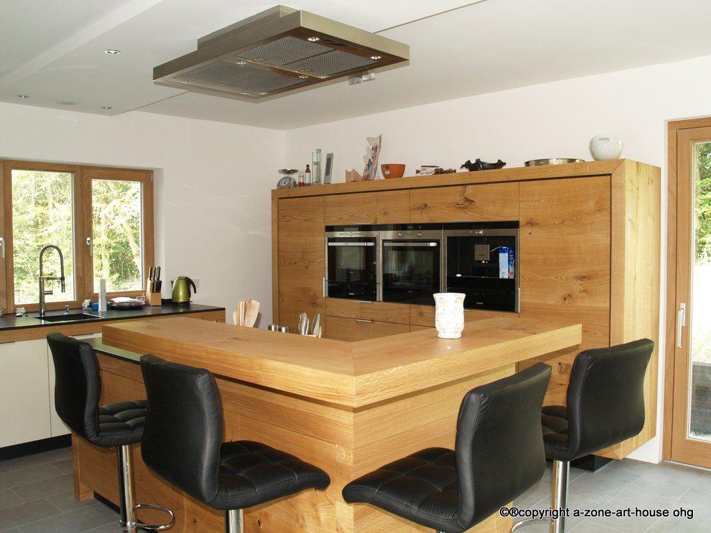 Lovely Moderne Küchen Aus Massivholz Decoration Of Massivholz-küche Donau-eiche, Schreinerküche, Küchen Der Schreinerei Hermann