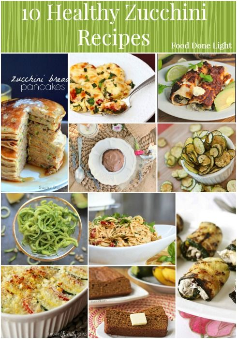 Photo of Healthy Zucchini Recipe Round Up – Food Done Light