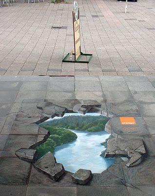 3d Street Art Amazingstreetart Street Art Pavement Art Sidewalk Art