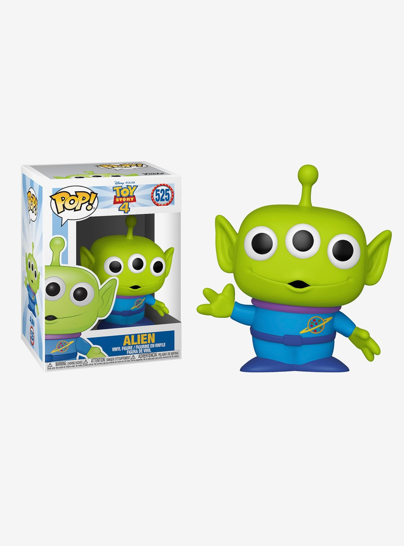 Funko Pop! Disney Pixar Toy Story 4 Alien Vinyl Figure