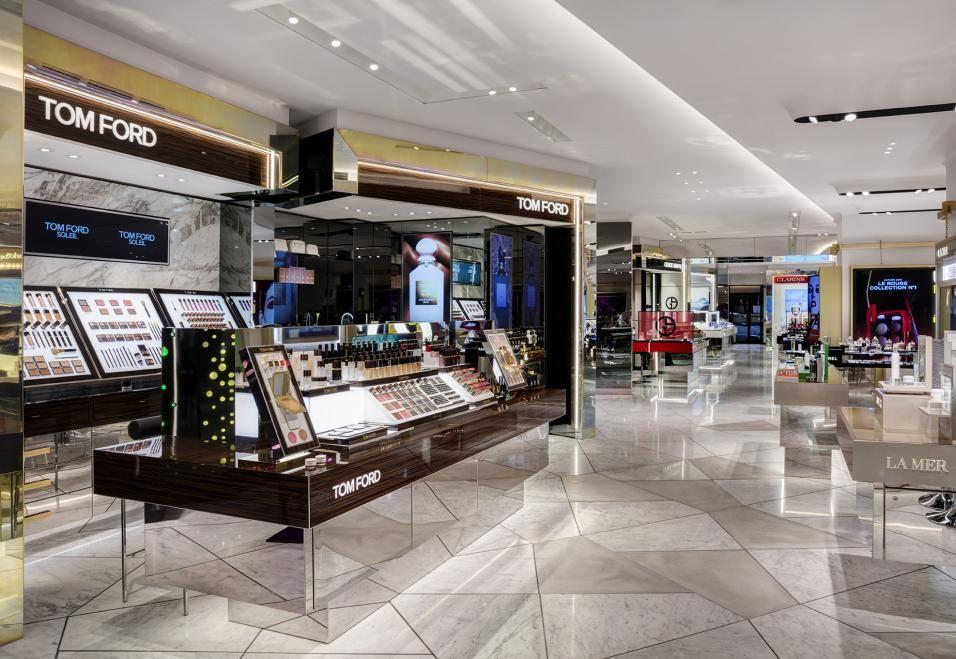 Harvey Nichols Beauty Virgile + Partners Shopping mall