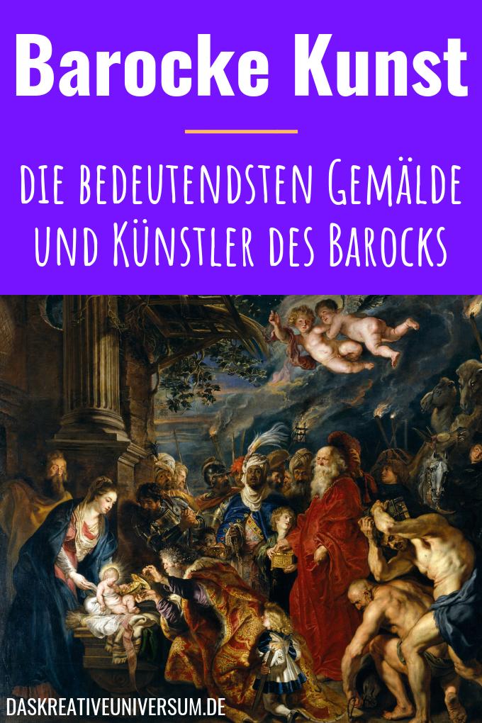 Barock Kunst Architektur Und Bildhauerei Barock Kunst Kunst Barocke Malerei