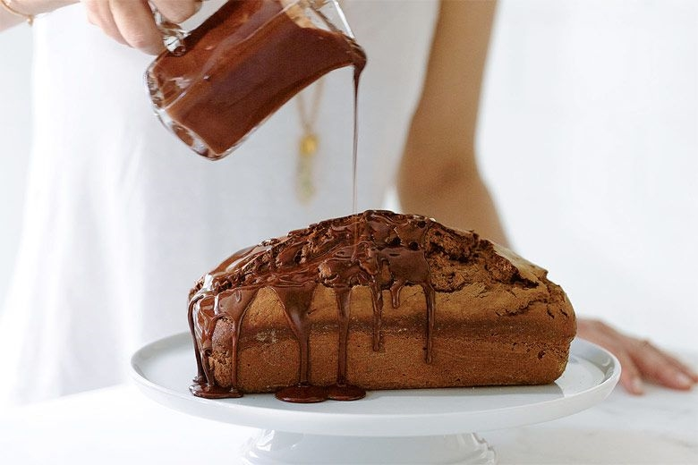 Chocolate-Mascarpone Pound Cake How to make cake #brownie #confectionery