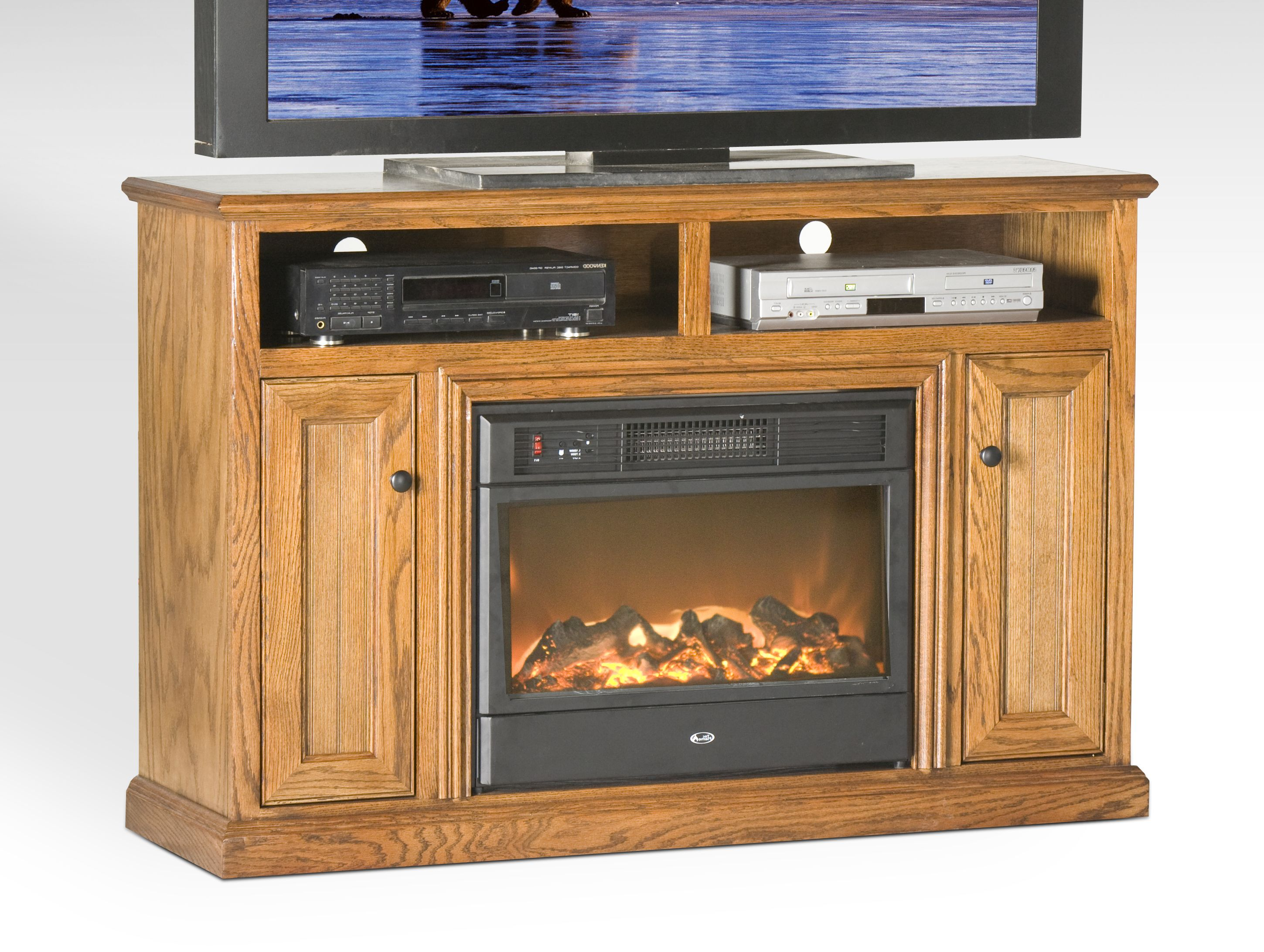 Costco Electric Fireplace Tv Stand 1 154 Eagle Furniture 53 25 Wide Electric Fireplace Tv St Fireplace Tv Stand Fireplace Entertainment Center Oak Fireplace