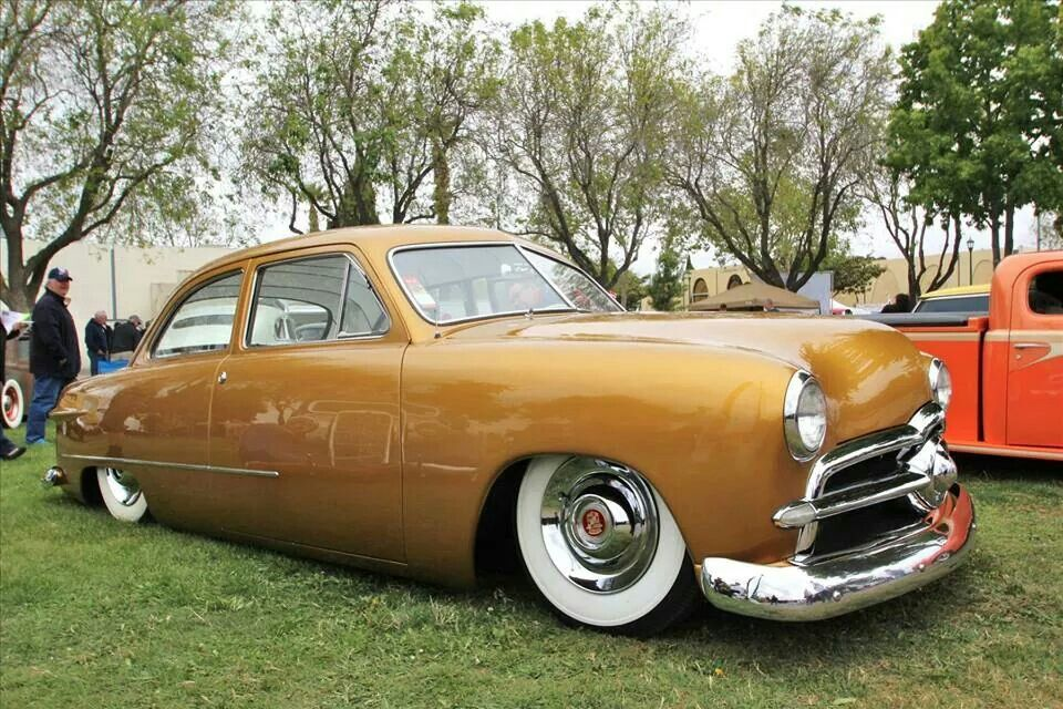 Pat Ganahl's 1950 Ford Coupe, Jamco rear suspension.