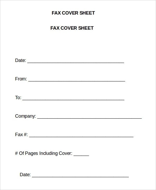 Cover Letter For Fax Document from i.pinimg.com