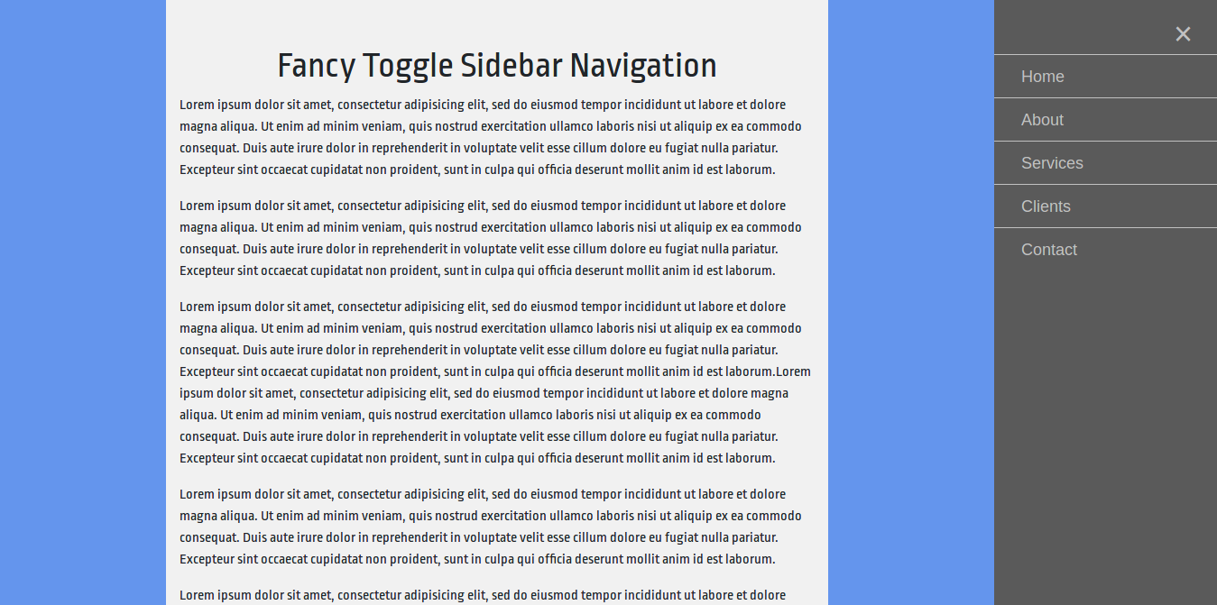 Fancy Slider Bootstrap