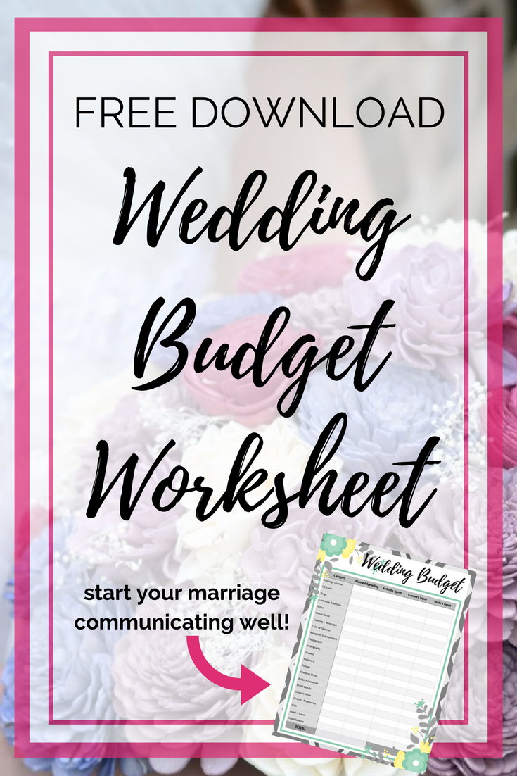 wedding budget worksheet printable budget worksheet printable