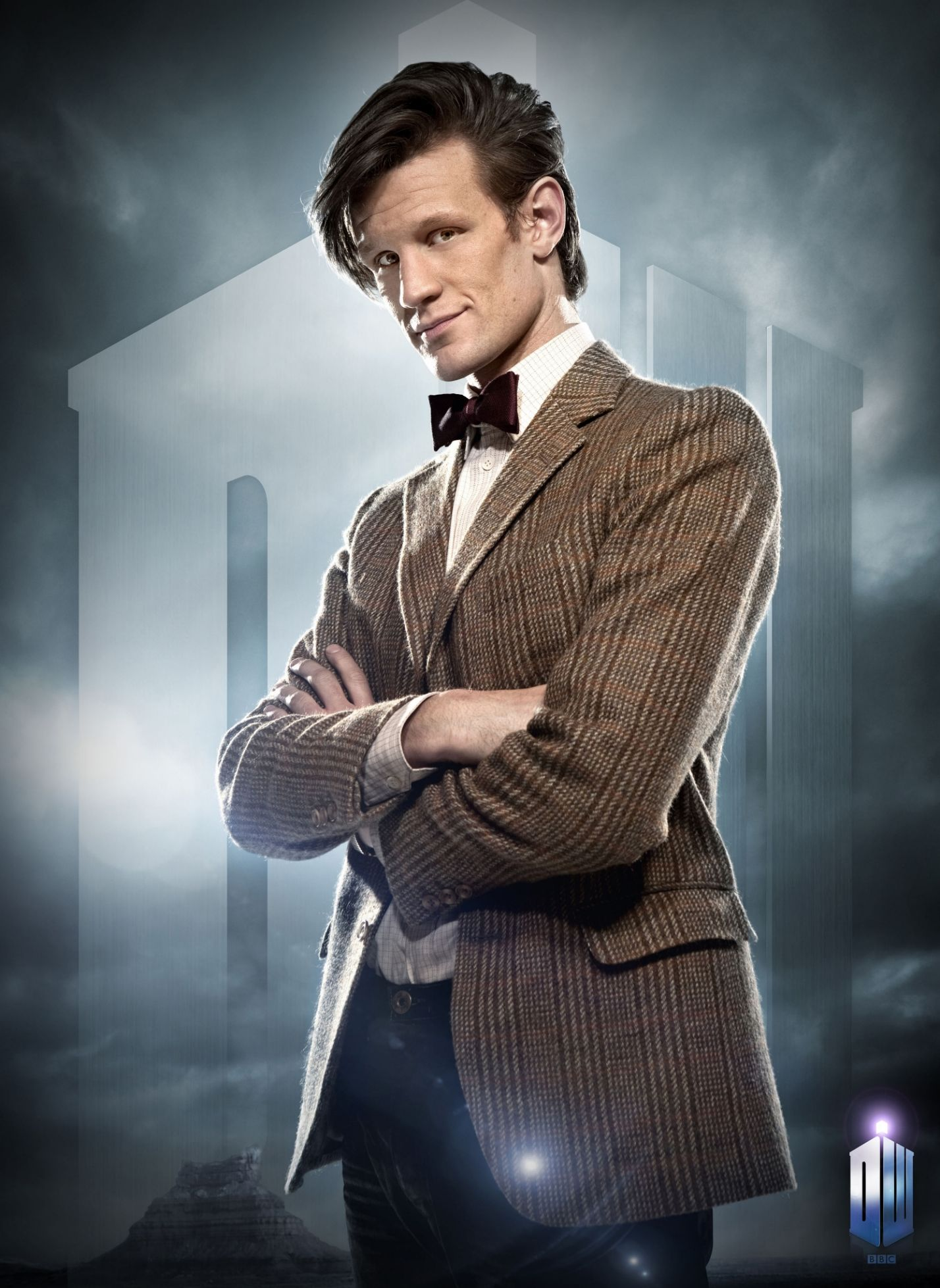 """Thank you very much to my Nephew Ryan for so brilliantly capturing the true essence of both THE DOCTOR and myself by phenomenally hand drawing this photo of THE """"11th"""" DOCTOR(Played by Matt Smith.)and the above quote on a customized card as a perfect gift for my 53rd birthday!!!!!!!"""