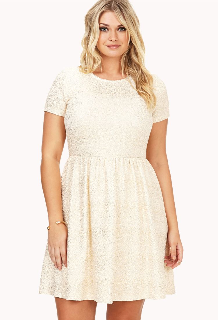 1b9effdeedb Festive Speckled Fit   Flare Dress
