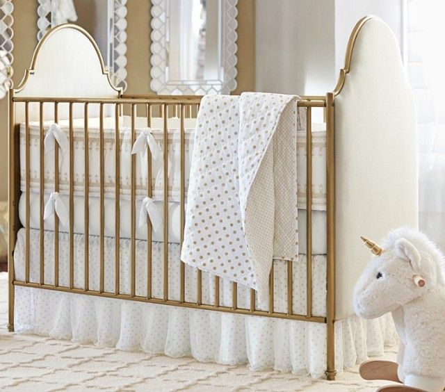Gold Cribs Project Nursery Gold Crib Nursery Bedding Sets Gold Dots Nursery