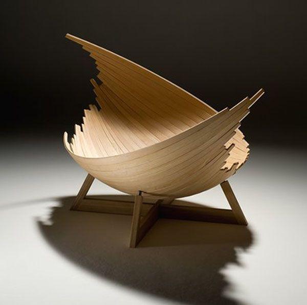 Mas Que Una Silla Para Decorar Y Colocar Cojines/ Creative Furniture For