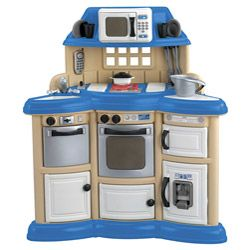 American Plastic Toys Children S Kitchen Play Set Ping On