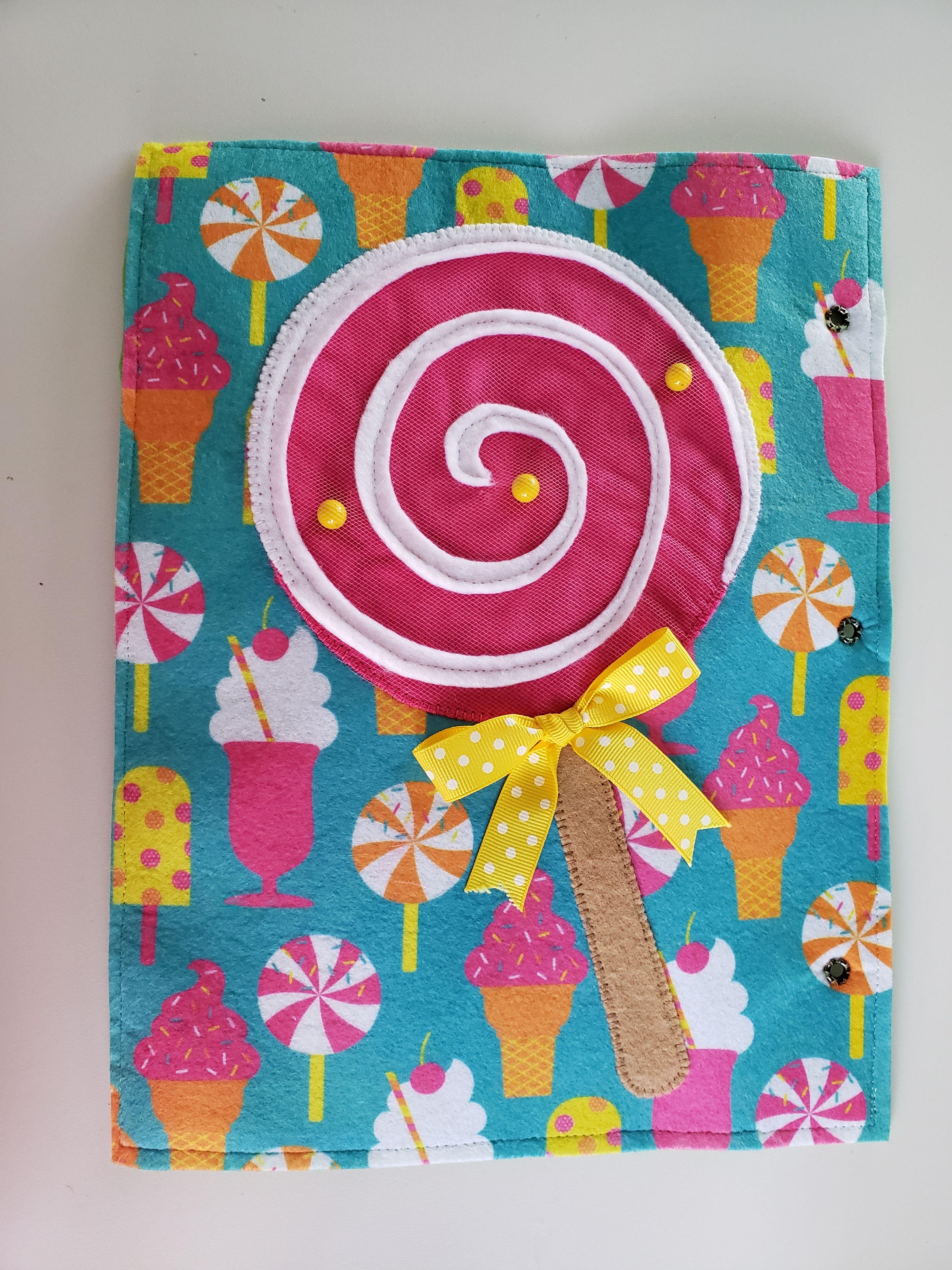 Lollipop Marble Maze Page