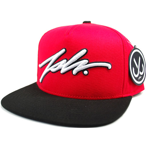 0d5001e32d2 Jslv Signature Snapback Hat (Red Black)  29.95