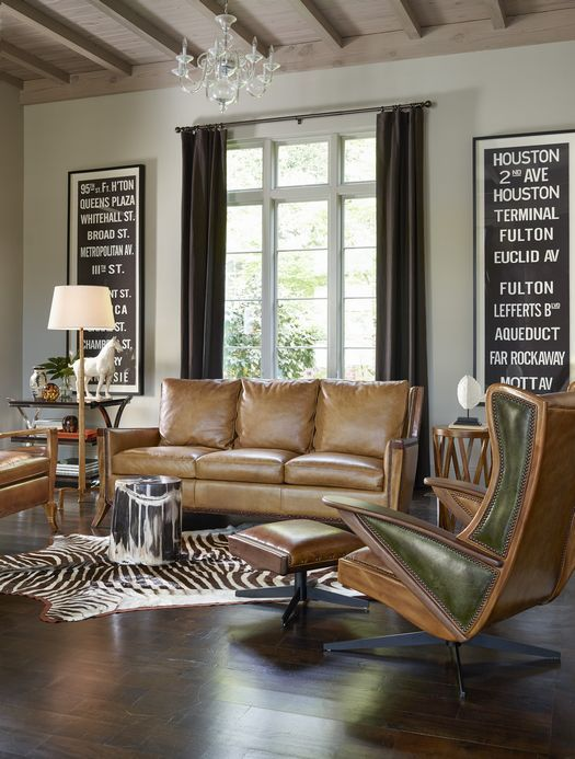 Handcrafted Furniture By Hancock And Moore Living Room Leather Lifestyle Furniture Furniture