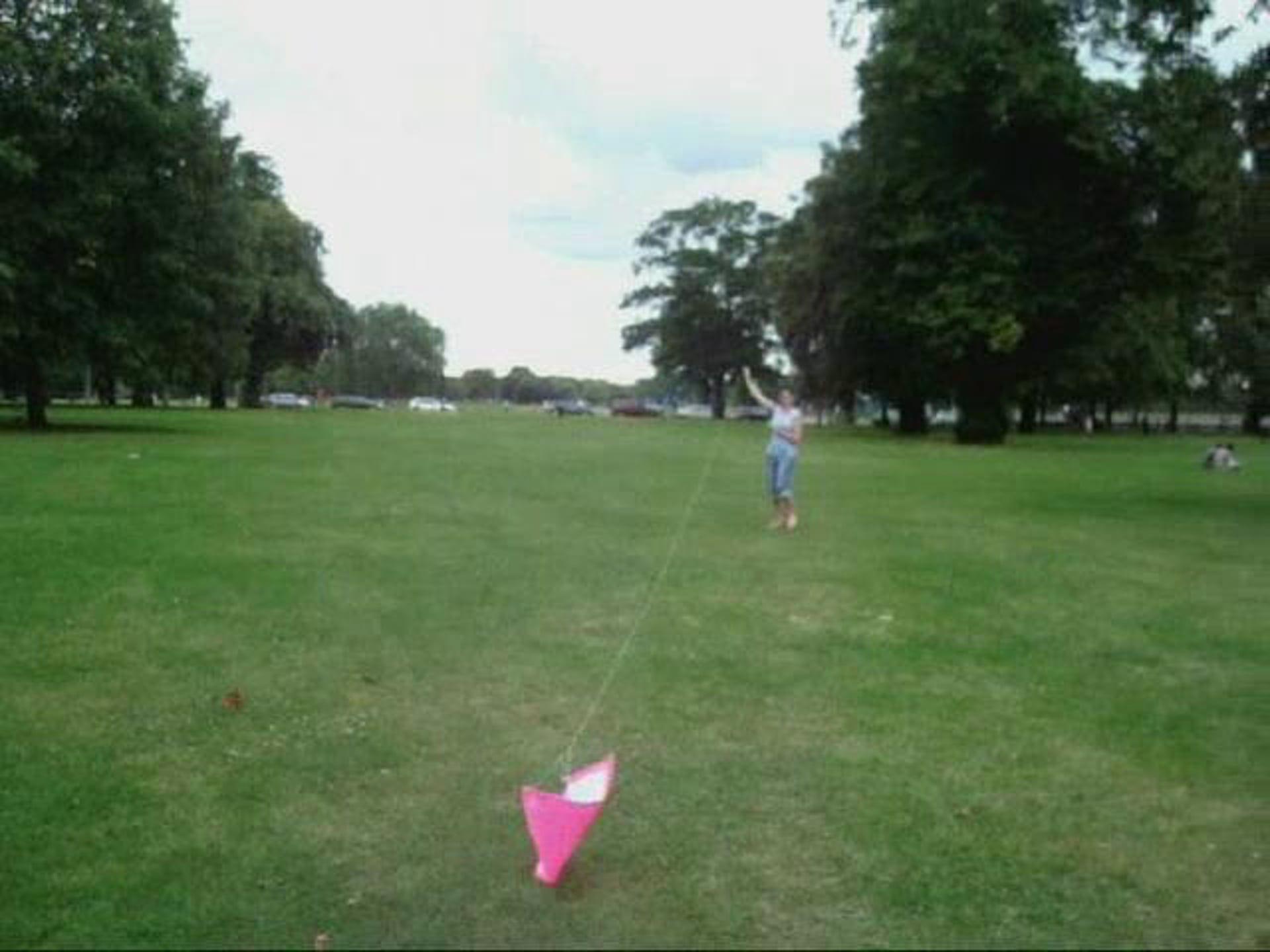 Fly A Homemade Kite