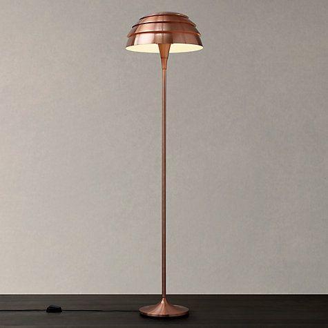 Buy John Lewis Oslo Floor Lamp, Copper Online at johnlewis.com ...