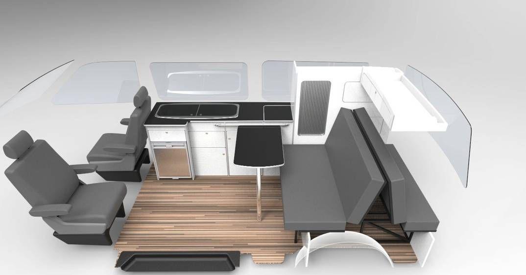 Campervan Flat Pack Furniture Units