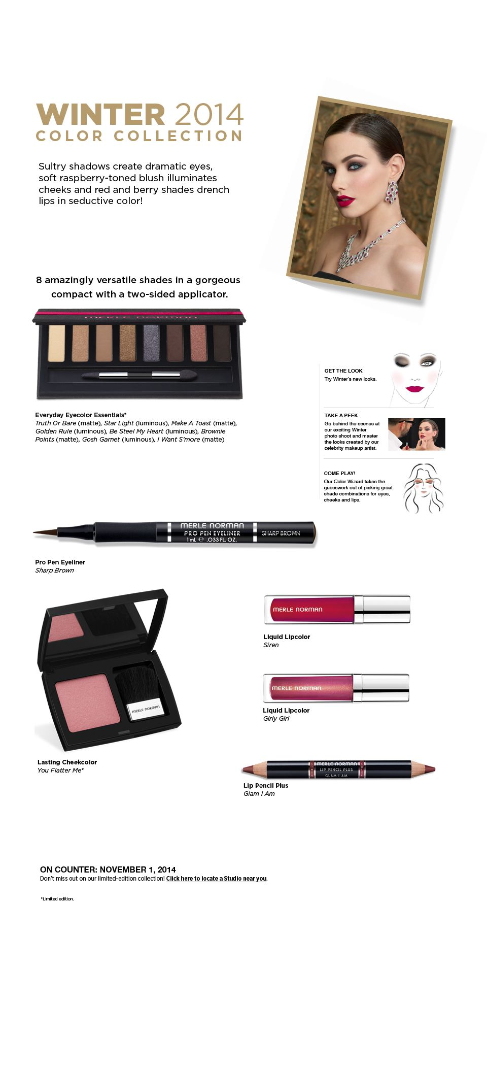 Beauty Color Collection / Merle Norman Cosmetics Merle