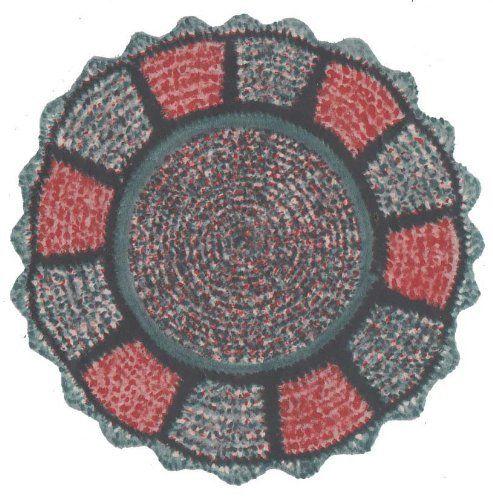 Crochet A Rag Rug Instructions: Free Rag Rug Crochet Pattern