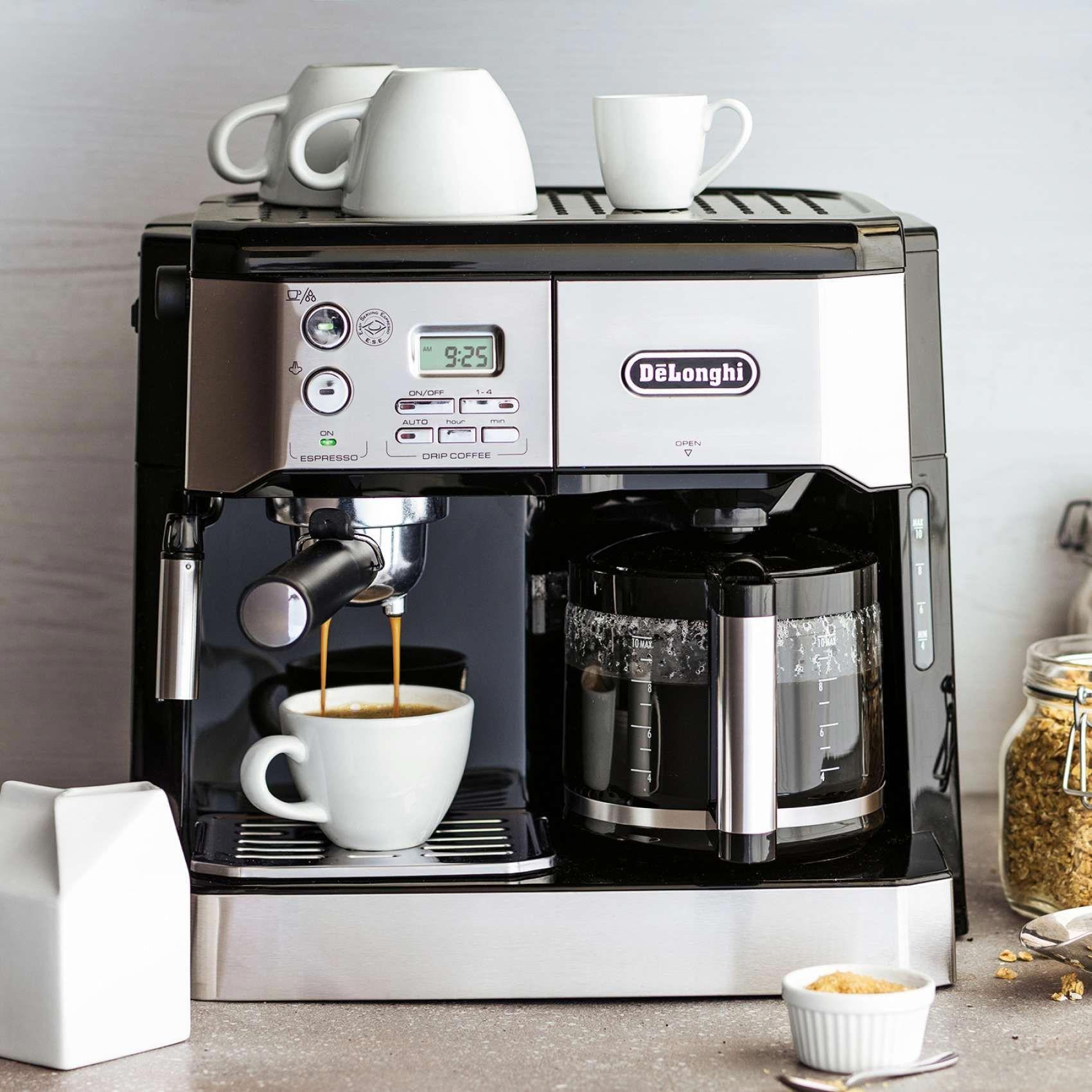 De'Longhi Combination Pump Espresso and 10Cup Drip Coffee