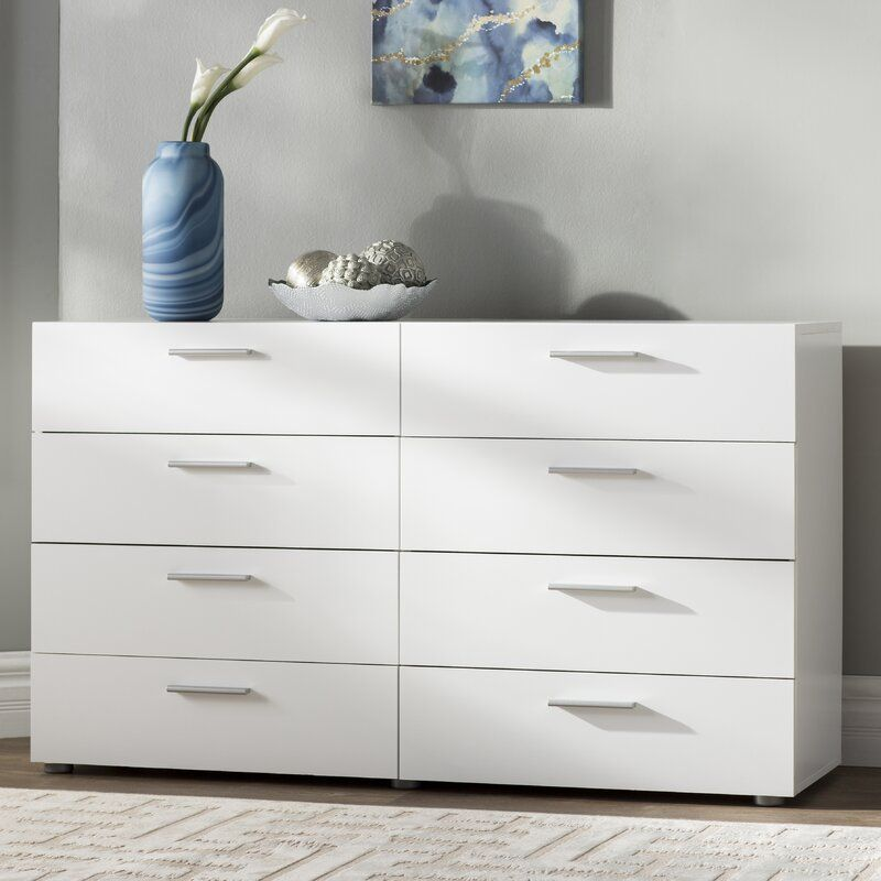 Wade Logan Pannell 8 Drawer Double