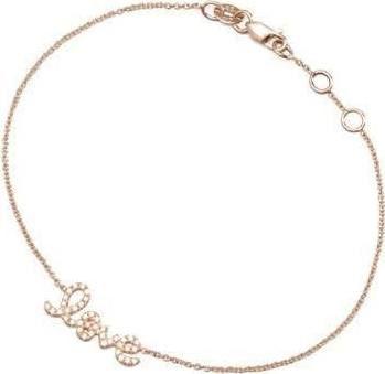 Sydney Evan 14k Gold Thin Diamond Bar Bracelet hILDu3
