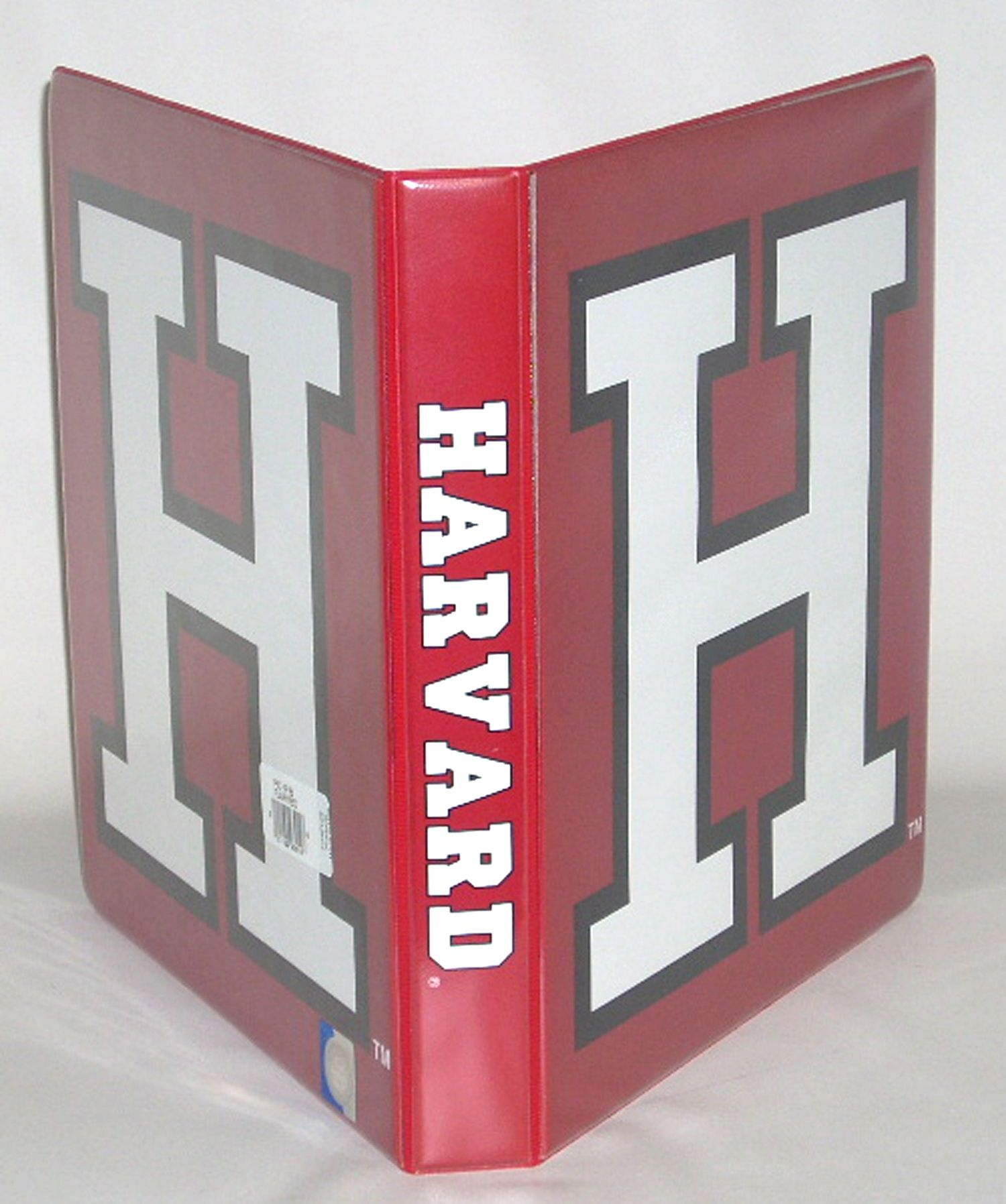 harvard university 1 pictorial looseleaf binder full color