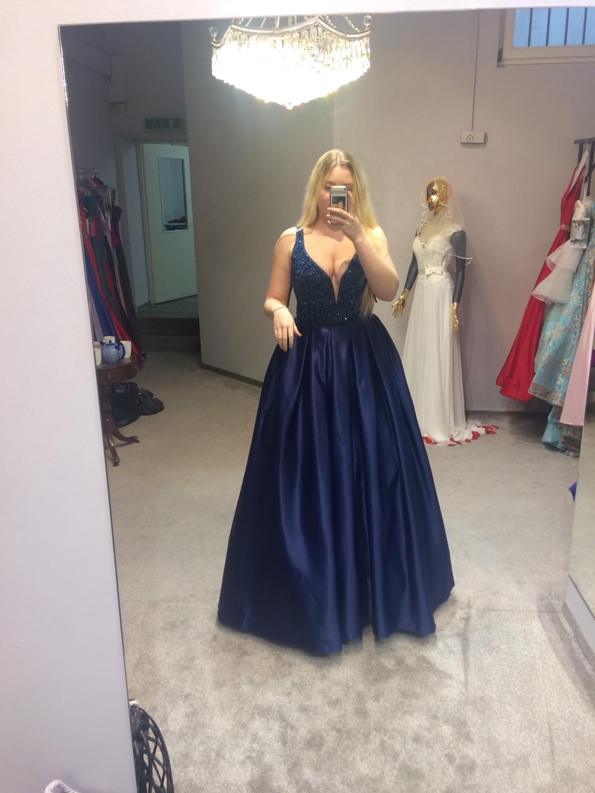 myself #mandelfashion #abschlusskleid #dress #bluedress