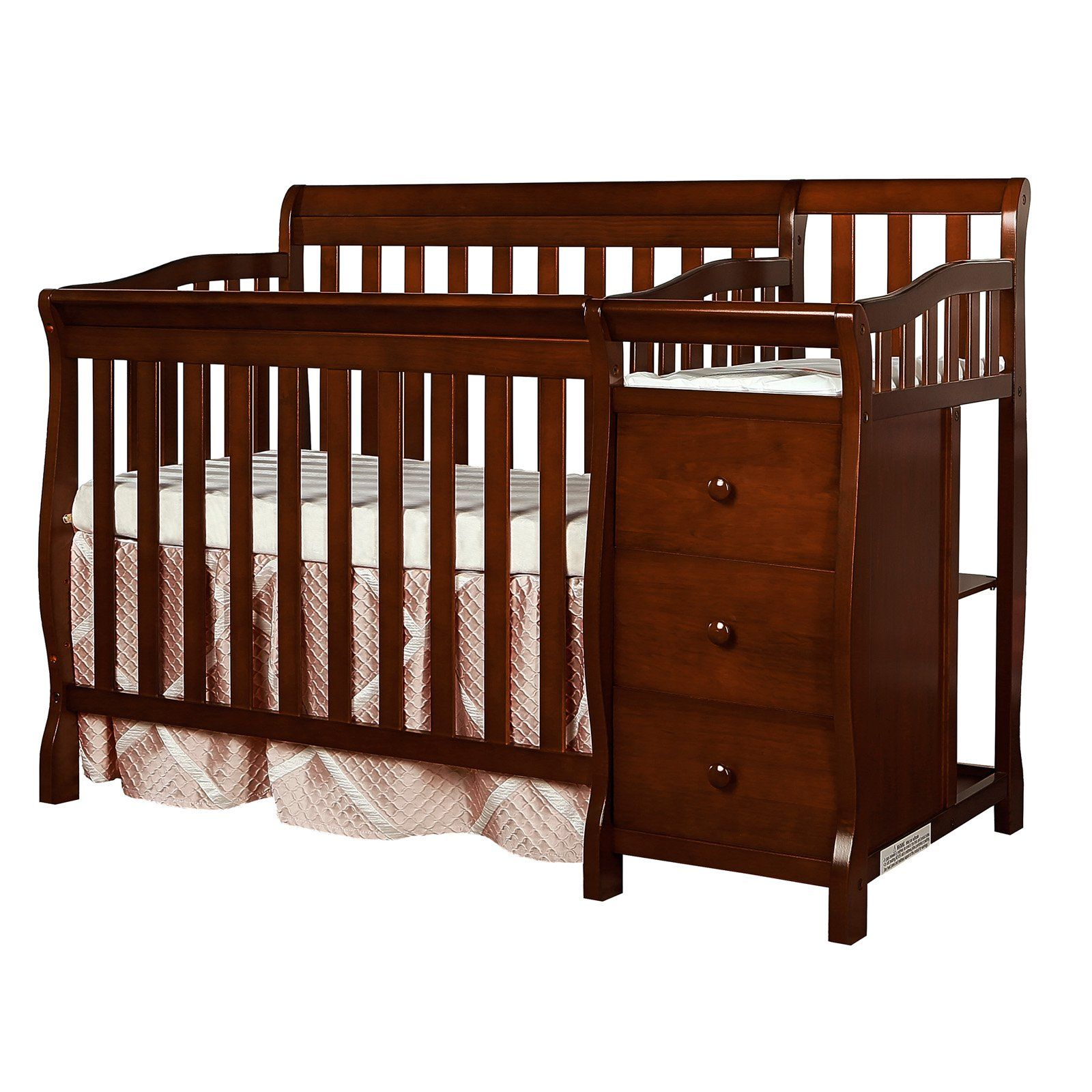 Dream On Me Jayden 4 In 1 Mini Convertible Crib And Changer Baby Cribs Convertible Cribs