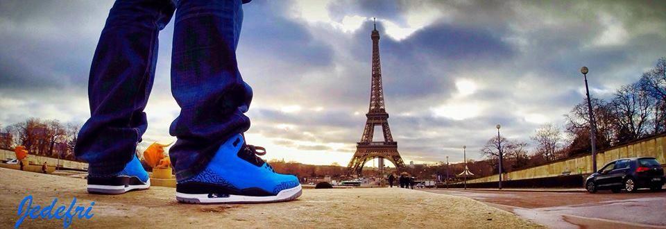 Jordan III powder blue