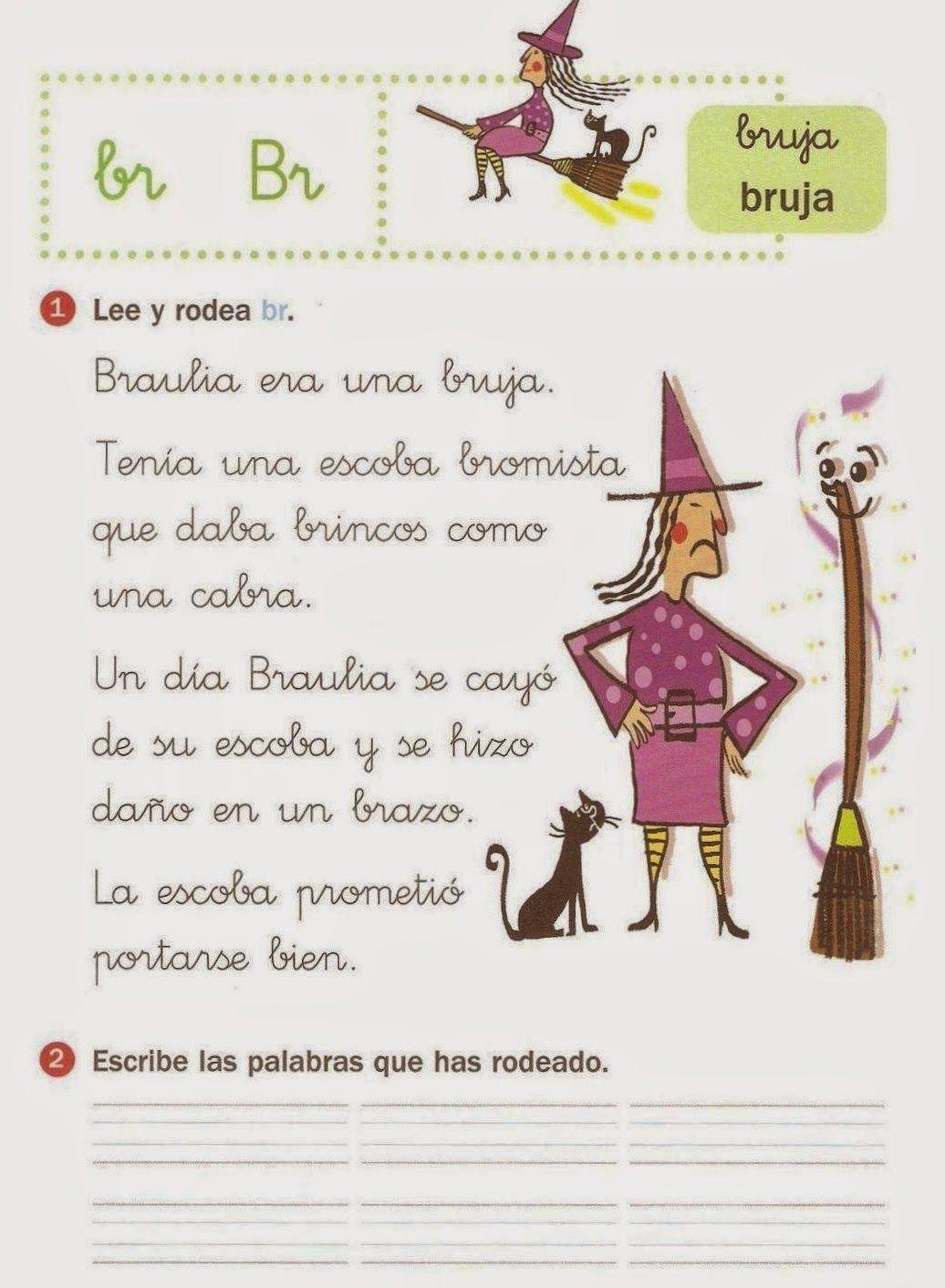 Resultado de imagen para TRABALENGUAS CON BR BL | 2nd form ...