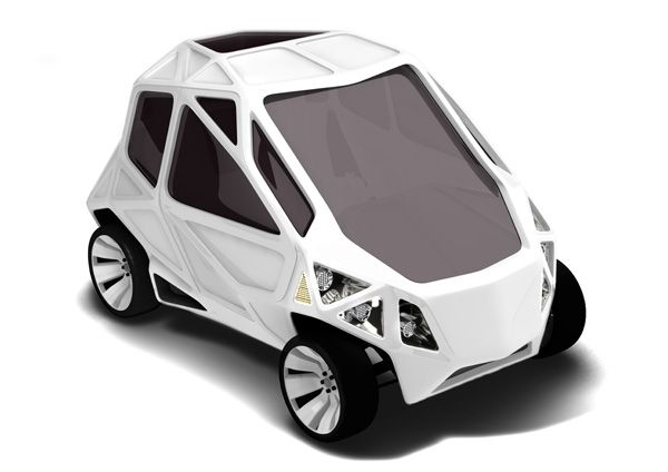 minimal and compact yet realistically usable urban vehicle