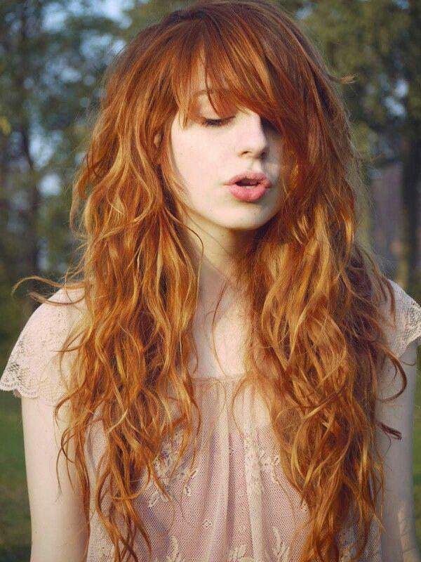 Color de pelo zanahoria