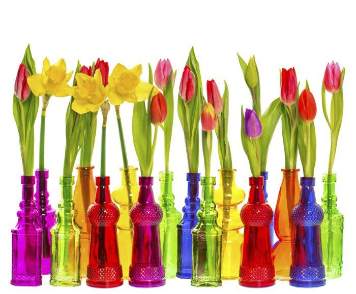 Best spring deco ideas! Be inspired; let colors energize you!