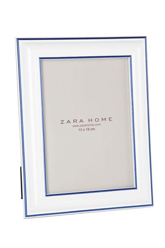 Zara Home Colored Wood Picture Frame, $19.90, [available at Zara Home]