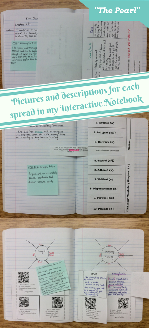 Interactive Notebook For The Pearl Inference Common Core