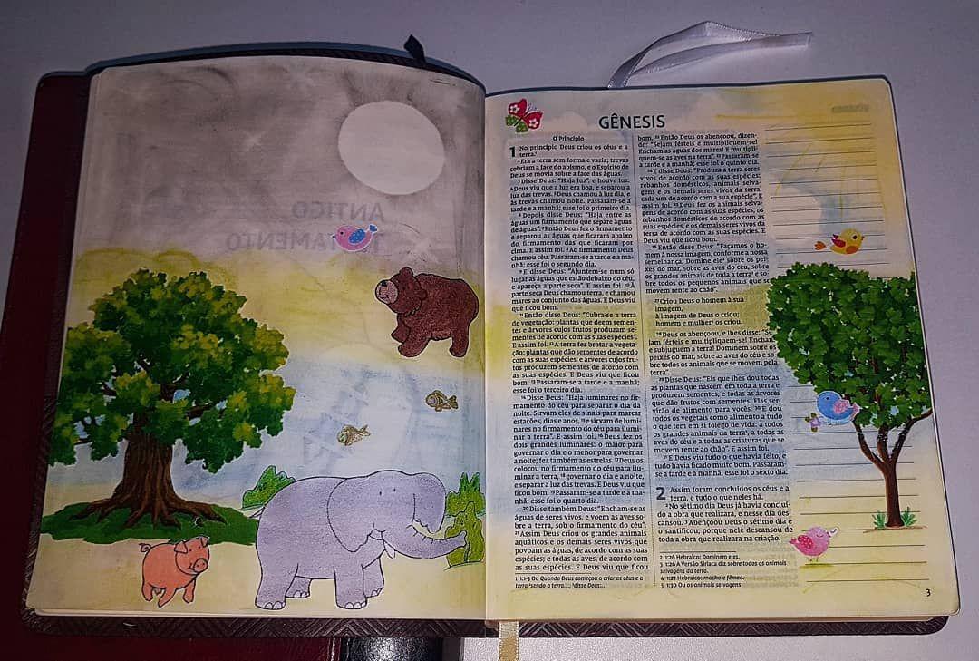No Principio Deus Criou Os Ceus E A Terra Genesis 1 Nvi O