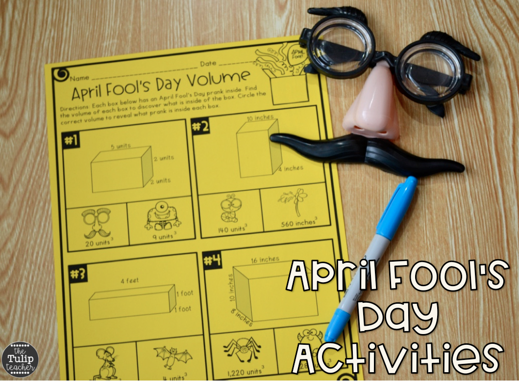 April Fool S Day Activities And Prank For Upper Elementary