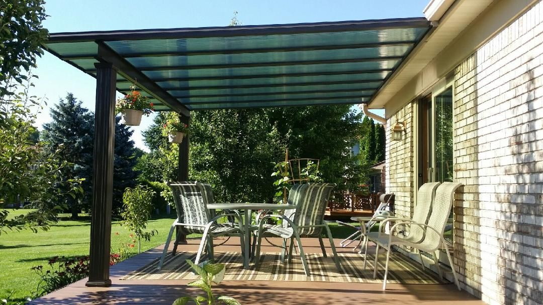 Stay Our Of The Heat While Still Enjoying The Sun Bright Covers Will Protect From Uv Rays And Still Let In Natural Light Making Th Patio Pergola Covered Patio